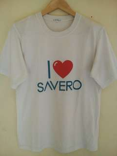 Kaos Putih Savero