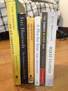 Siri Hustvedt collection
