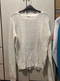 Terranova White Knitted Sweater