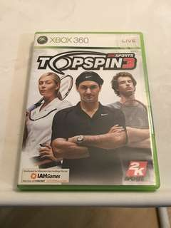 🚚 Xbox 360 Game Topspin 3