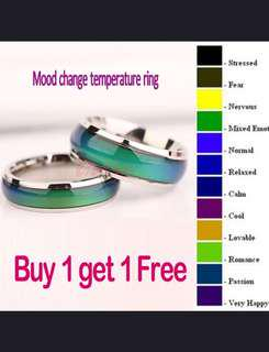 Mood Ring Color Changeable With Temperature
