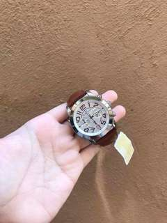 Michael Kors Mercer Leather Watch