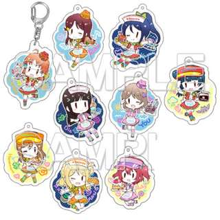 [PO] Love Live! Sunshine!! School idol diary Trading Acrylic Keychain 9Pack BOX