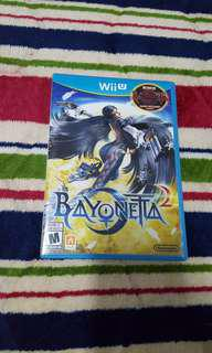 Wii U Bayonetta 2 + bonus Bayonetta 1