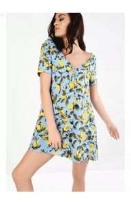 Glamorous lemon dress