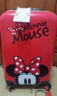 迪士尼 行李箱 20吋 CL2609Deseno 迪士尼 Disney 米奇 米妮 奇幻之旅  旅行箱 再送熊大旅行箱 行李箱 登機箱