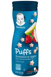 Gerber puff (Banana and Apple flavour)