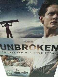 Unbroken movie DVD