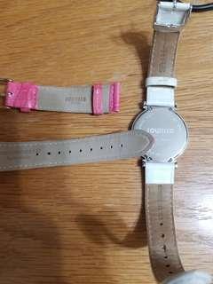 超抵價 25折 Swiss made  Jowissa Watch 另配Titus 錶帶  及全新Jowissa 原裝瑞士製錶帶
