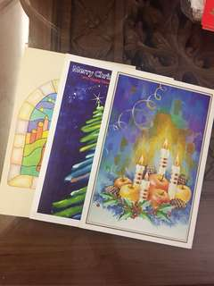 (BN) Promotion for this week-Set of 3 Merry Christmas & Happy New Year Greetings!
