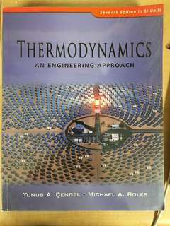 MA2003–Thermodynamics An Engineering Approach