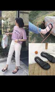 🚚 chic korean sandals