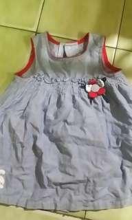 🚚 女童2歲麗嬰房牛仔洋裝