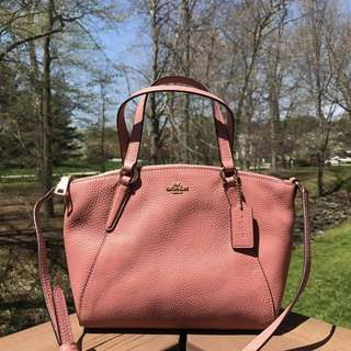 Coach Mini Kelsey in Vintage Pink