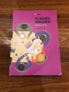 Business Management 3/4 Edrolo