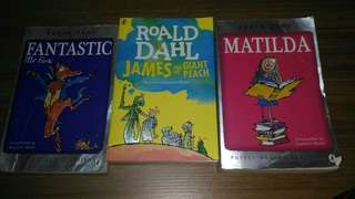Road dahl story books  (each)