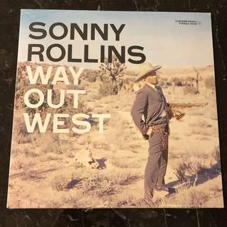 Sonny Rollins - Way out West . Vinyl Lp. New