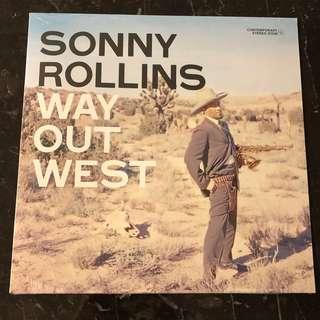 Sonny Rollins - Way out West . Vinyl Lp. New