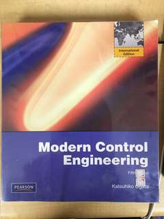 Modern Control Engineering (MA3005)