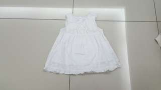Baby White Dress (2years)