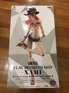 One Piece Banpresto Flag Diamond Ship FDS Nami Pirate Look Original Color Ver.