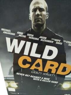 Wild card movie DVD