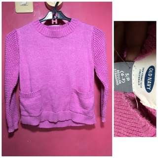 baby pullover 6-7