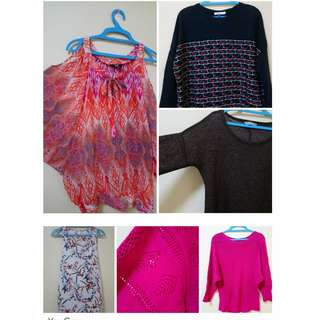 Women's Clothes RM 10/18 FOR All items