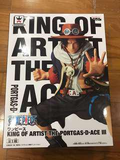 One Piece Banpresto King Of Artist KOA Portgas D. Ace III Alabasta Ver.