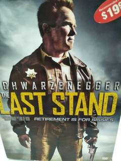 The last stand movie DVD