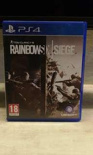 PS4 rainbow seige