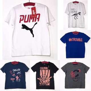 Assorted Kids Boys Teens Tshirt PK26
