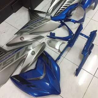 Set Biru Silver First model original Hong Leong
