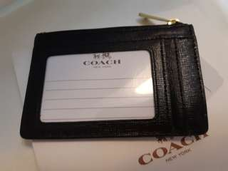 Coach coin & key ID case