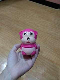 Serutan monkey pink