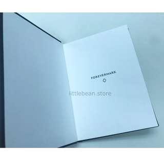 【Forevermark】Notebook 記事簿 硬皮 黑色