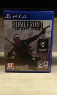 PS4 Homefront Rev