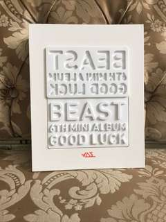 BEAST - Good Luck Album (White Version)