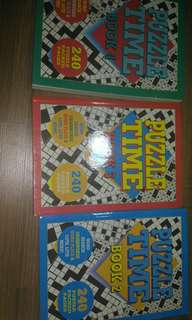 Puzzle books (set)