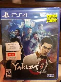 PS4 Yakuza O zero