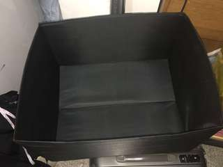 Box for clothes w/o cover