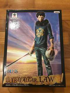One Piece Banpresto Master Stars Piece MSP Trafalgar Water D. Law First Release Ver.