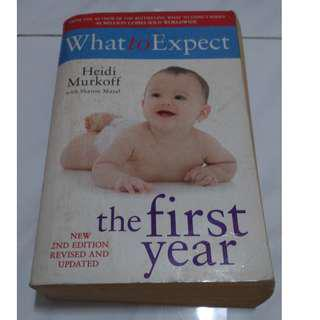 [Self Development Book!] What To Expect The First Year
