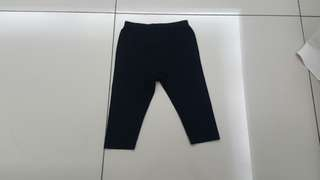 Uniqlo Baby Black Pants (12-18months)