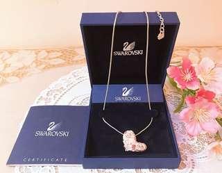 🚚 🌸SWAROVSKI 施華洛世奇 愛心水晶鑽飾 項鍊