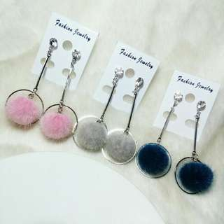 Ready !!! Anting Pom2 Juntai,Ring