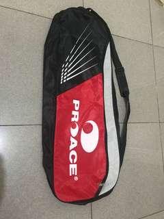 Tas badminton ProAce (2 seleting, bisa masuk sepatu, baju)