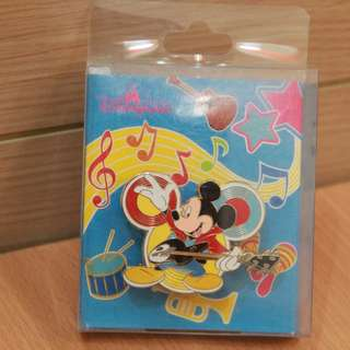 HKDL 香港迪士尼樂園限量版音樂徽章系列 2012 Hong Kong Disneyland Limited Edition Music Pin - 米奇 Mickey