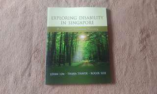 Exploring Disability in Singapore by Lim, Thaver and Slee