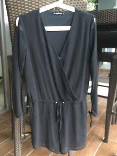 Something Borrowed Black Jumpsuits